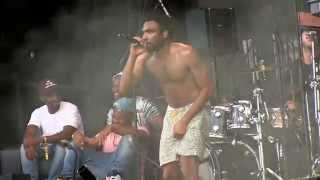 """Childish Gambino  @ Lollapalooza- """"Bonfire"""" (HD) Live August 3, 2014"""