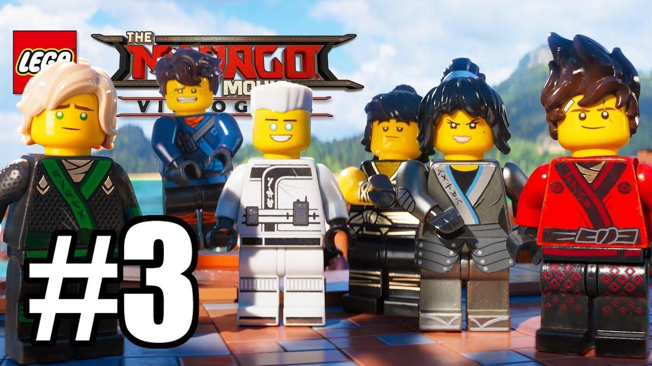 Ninjago City Docks The Lego Ninjago Movie Videogame Gameplay Lets Play Walkthrough Pc E03