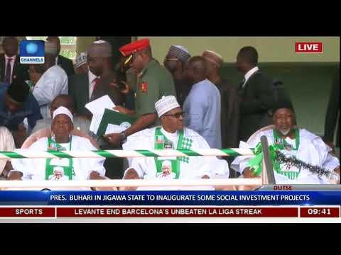 Pres Buhari Inaugurates Social Investment Programme In Jigawa Pt.2 |Live Coverage|