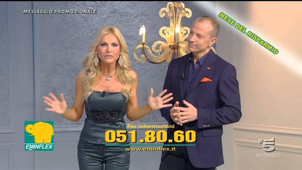 Vendita Materassi In Tv.Eminflex Offerta Mese Del Risparmio