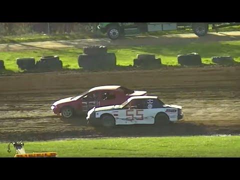 Mini Stock Heat Two | McKean County Raceway | Fall Classic | 10-10-15