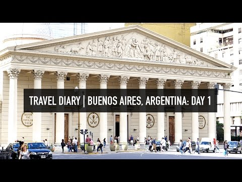 TRAVEL VLOG | Buenos Aires, Argentina
