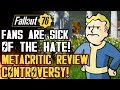 Fallout 76 - Fans are SICK of the HATE! Metacritic Review Controversy! Graphics Engine Outdated?