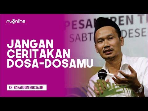 🔴Gus Baha: Jangan Ceritakan Dosa U0026 Keburukanmu! (Subtitle Indonesia)