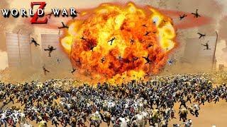 ЯДЕРНЫЙ ВЗРЫВ УНИЧТОЖИЛ 1.000.000 ЗОМБИ! ФИНАЛ ИЕРУСАЛИМ! АКТИВИРОВАЛИ ОПАСНОЕ ОРУЖИЕ В WORLD WAR Z
