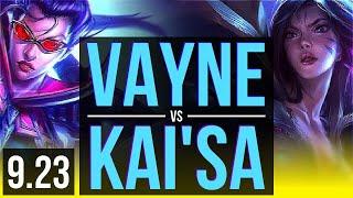 VAYNE  Karma vs KAISA  Nautilus ADC  NA Grandmaster  v923