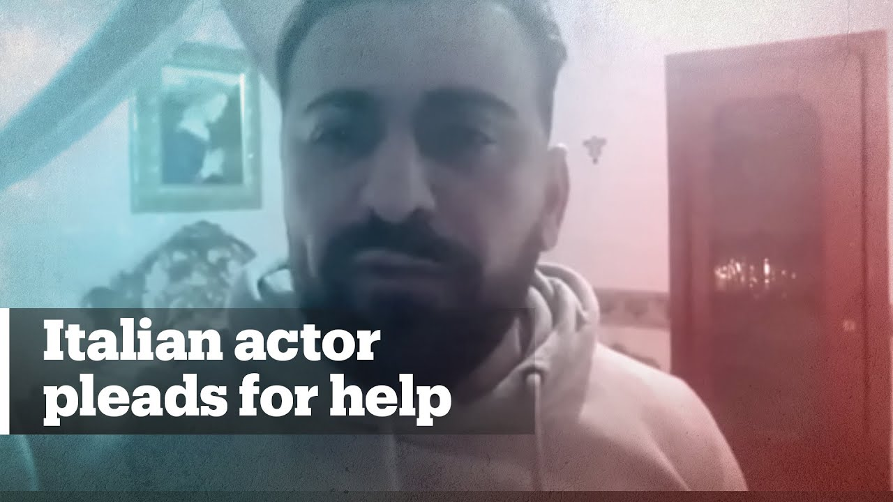 Italian actor Luca Franzese pleads for help