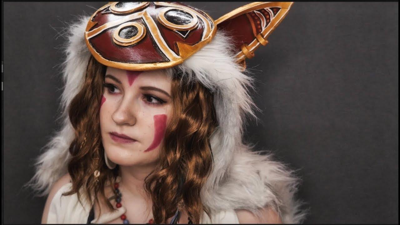 San Makeup Princess Mononoke Cosplay Youtube