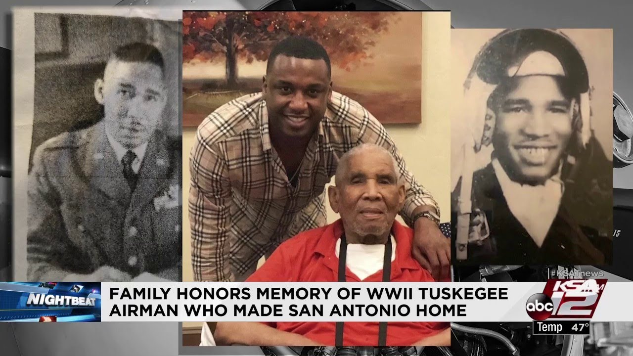 Family honors memory of WWII Tuskegee airman who made SA home