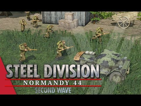 Lucky Brits! Steel Division: Normandy 44 Gameplay (Cheux, 4v4)