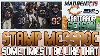 Madden 15 Mut   Ultimate Team Gameplay   Message After Game, Not So Good