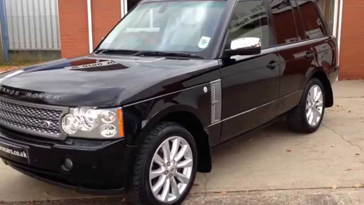 2007 07 land rover range rover vogue 4 2 v8 supercharged se 4dr auto sorry now sold youtube. Black Bedroom Furniture Sets. Home Design Ideas