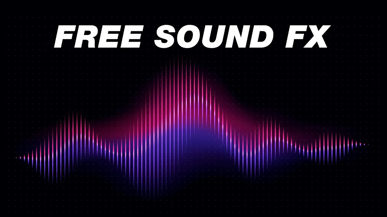 FREE Sound Effects Pack YouTubers Use!  (Royalty Free)
