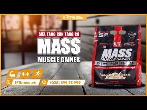 Sữa tăng cân Elite Labs Mass Muscle Gainer Chocolate 4.62kg - SMEL935