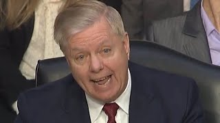 Lindsey Graham Lies About Peter Strzok And Lisa Page Leading FBI Investigation Into Trump