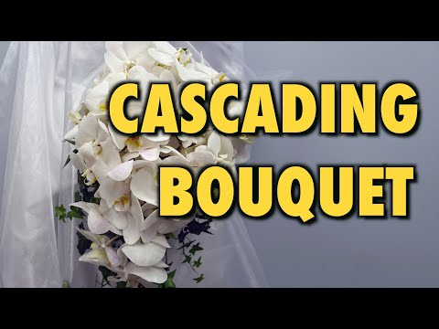 how-to-make-cascading-bridal-bouquet-with-phalaenopsis-orchids