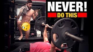 10 Things NEVER to Do in a Gym!!
