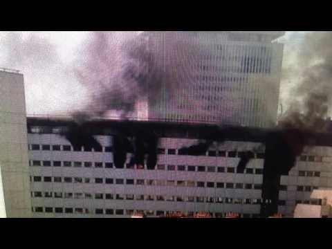 "BREAKING: Massive Fire ""Radio France"" Paris France"