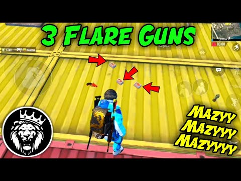 I Killed 20 Enemies With 3 Flare Guns / Star Anonymous / Pubg Mobile
