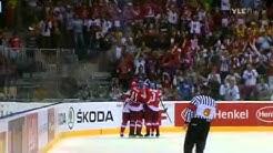 IIHF WC 2011 Quarterfinals Czech Republic vs USA 4-0 tsekki vs jenkit 4-0!