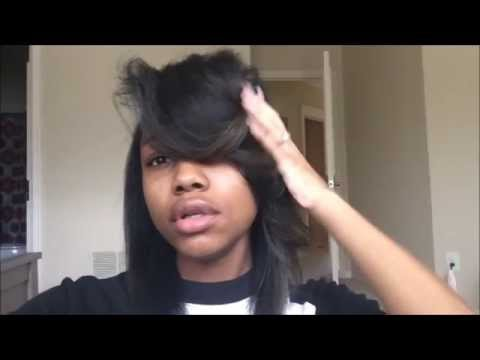 #TheBigBangTheory | Poppin swoop bang with straight hair