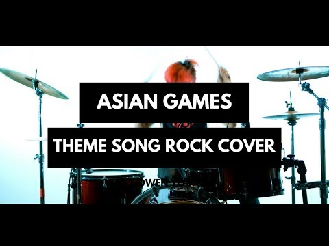 Asian Games 2018 Official Song - Bright As The Sun ROCK Cover By Jeje GuitarAddict Ft Jon Skinner