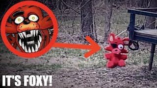 I FOUND FOXY IN REAL LIFE! *Five Nights At Freddys*