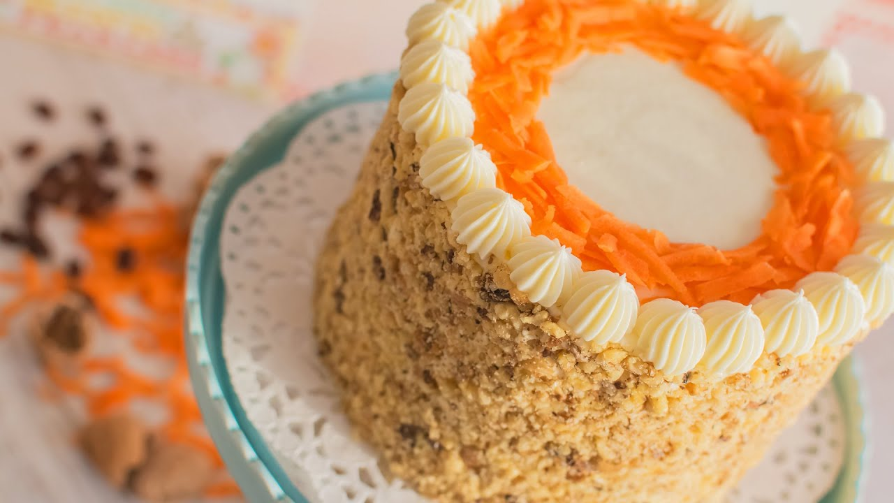Carrot Cake No Icing