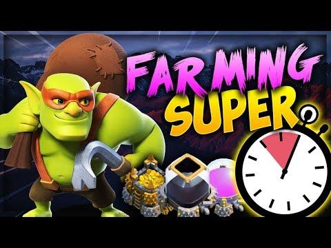 NUNCA FUE TAN FÁCIL FARMEAR EN CLASH OF CLANS | Maxeando Mi TH11 Gracias A Este Ejército!