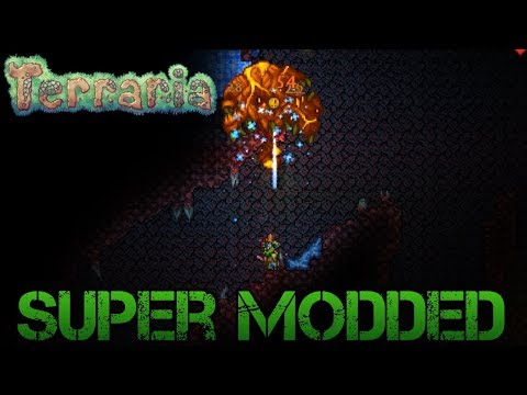 [13] The Perforator Hive | Super Modded Terraria