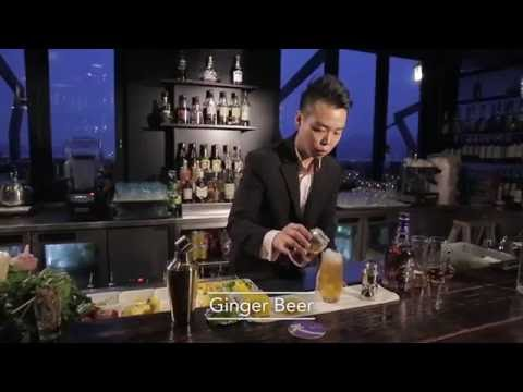 Best Bartender cocktail at Sky 21 by Ryan Fung