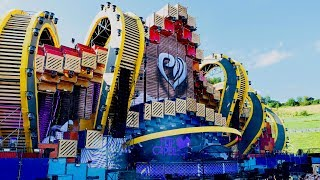 Electric Love Festival • Stage Design, Lighting & Sound Production - Stafaband