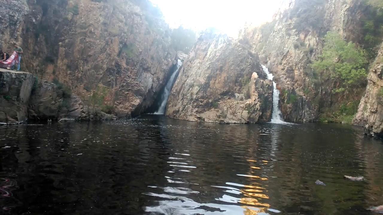 Cascadas de espa a cascada del hervidero en san agust n for Piscina san agustin de guadalix