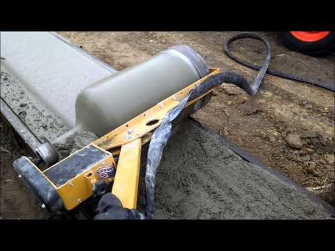 How To Pour A Curb And Gutter Curbroller Doovi