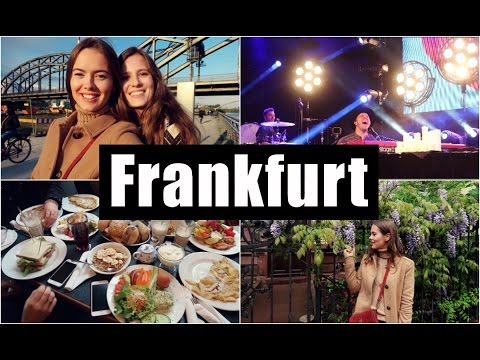#11 FRANKFURT, FRIENDS AND MY FAVORITE SINGER | Emirates Cabin Crew