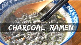 Bamboo CHARCOAL Ramen Taste Test - Whatcha Eating?