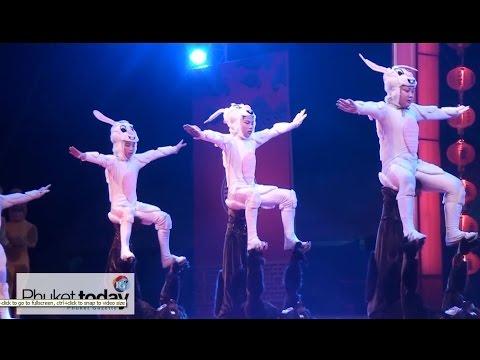 Beijing acrobats, Getsunova, at Phuket's CNY celebrations tonight