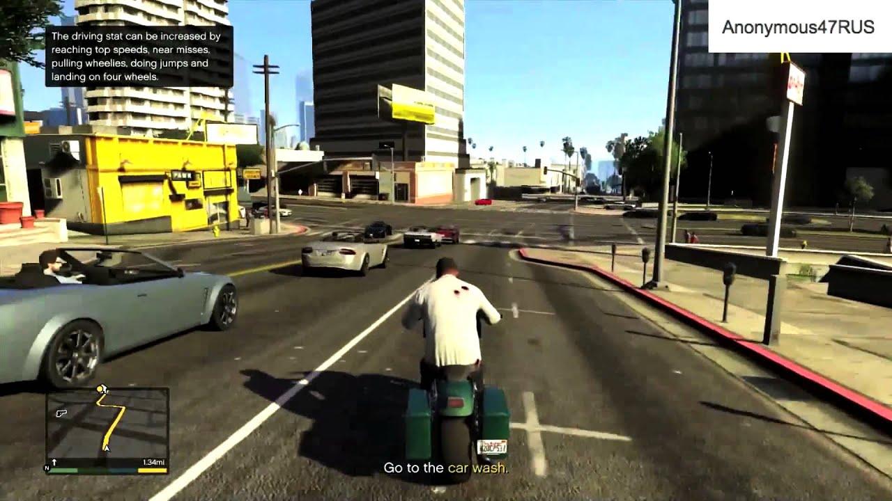 Grand Theft Auto V Gameplay - XBOX 360 PS3 PS4 - GTA 5 - YouTube