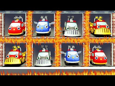 Cars Fire Trucks - Android Games