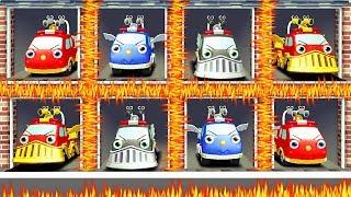 Fire Trucks For Kids  - Gocco Fire Truck - Videos Games Kids