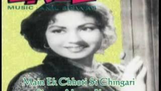 Main Ek Chhoti Si Chingari-Meena Kapoor-Ladli (1949).flv