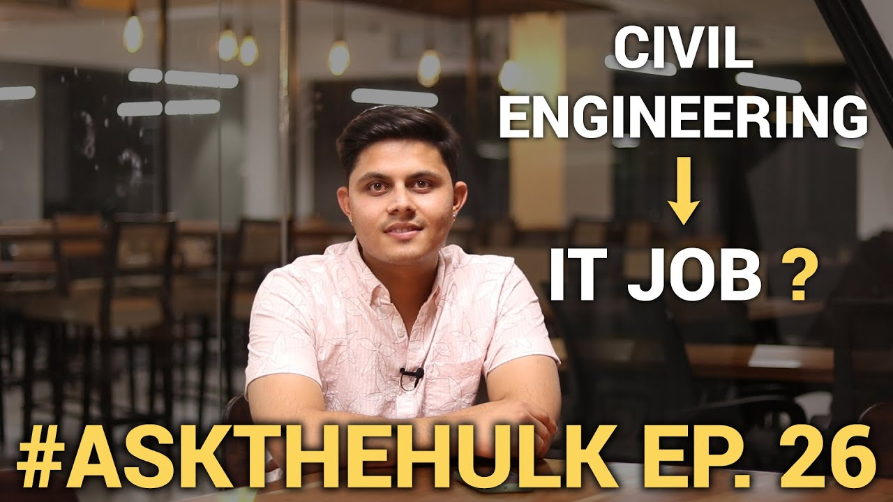 Can you get an IT job if you are from Mechanical or Civil engineering?