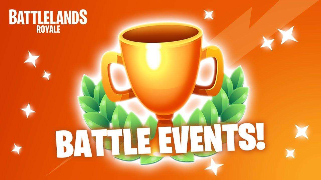 Introducing BATTLE EVENTS! Battlelands Royale Dev Updates - Update 1.3.0