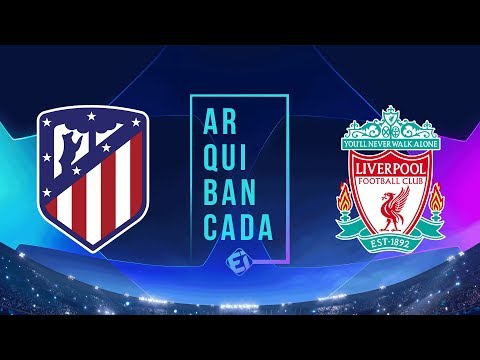 ATLÉTICO DE MADRID x LIVERPOOL (narração AO VIVO) - Champions League