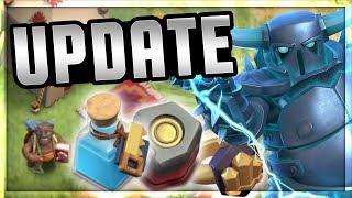 UPDATE! BUILDERHALL 8 GEMMEN & TRADER! - Clash of Clans NEDERLANDS [#132]