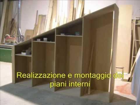 Realizzazione di un armadio su misurawmv  YouTube
