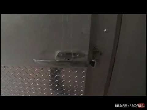 Creepy Footage of the Crowne Plaza Hotel Kitchen/Freezer walkthrough
