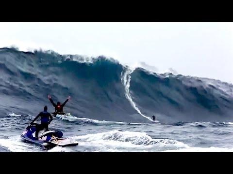 [ Mr One ] Massive Waves at Pedra Branca! - Australia