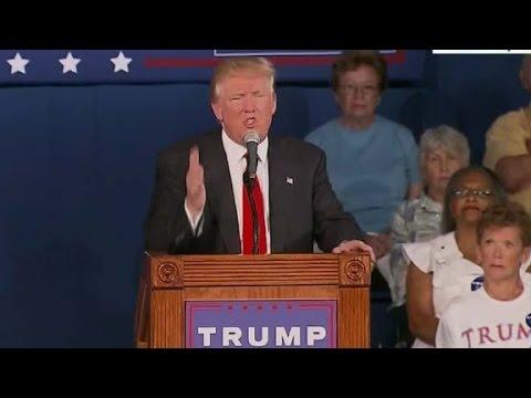 Trump mocks 2016 opponents, discloses Graham's number