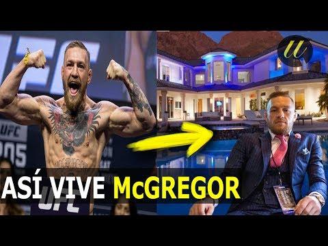 ASÍ ES LA VIDA DE CONOR McGREGOR , DE POBRE A RICO, MIRA SUS LUJOS , AUTOS, CASA ,SO McGREGOR LIVES